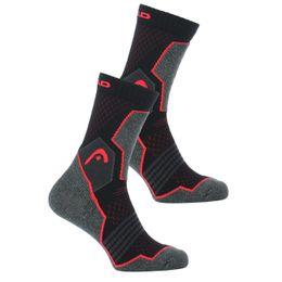 Hiking crew | Lote de 2 pares de calcetines clásicos - Poliéster, algodón y poliamida stretch