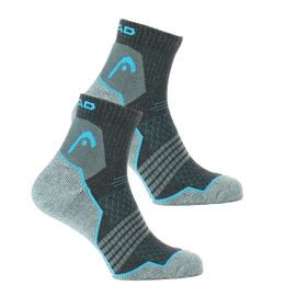 Hiking quarter | 2-pack short socks - Polyester, cotton and stretch polyamide