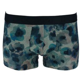 Aqua Flower | Boxer briefs - Cotton and stretch modal