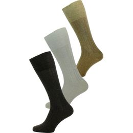 Triple Pack Coton   3-pack socks - Cotton and stretch polyamide