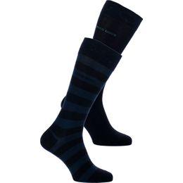 Block stripe | 2-pack socks - Cotton and stretch polyamide