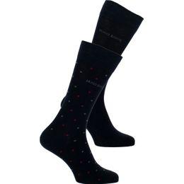 Dot  | Lote de 2 pares de calcetines clásicos - Algodón y poliamida stretch
