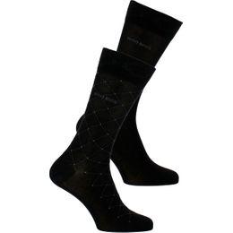 Overcheck  | Lote de 2 pares de calcetines clásicos - Algodón y poliamida stretch