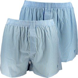 2P | 2-pack boxer shorts - 100% cotton
