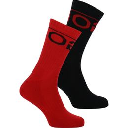 2P logo | 2-pack socks - Cotton and stretch polyamide
