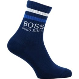 Rib Stripe | 1 par de calcetines clásicos - Algodón y poliamida stretch