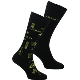 Icons | 2-pack socks - Cotton and stretch polyamide