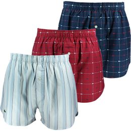 Authentics | 3-pack boxer shorts - 100% cotton