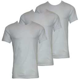 Colours | 3-pack short-sleeved T-shirt - Pima cotton and stratch modal