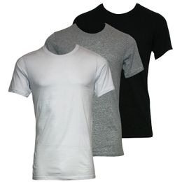 Colours | 3-pack short-sleeved T-shirt - 100% cotton