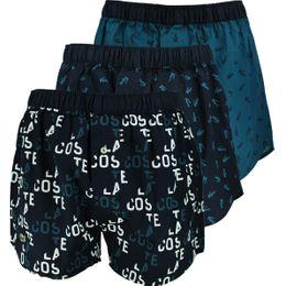 Authentics | 3-pack boxer shorts - 100% cotton