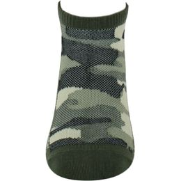 Camo   2-pack ankle socks - Cotton and stretch polyamide