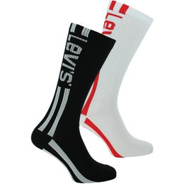 168sf vintage   2-pack socks - Cotton and stretch polyamide