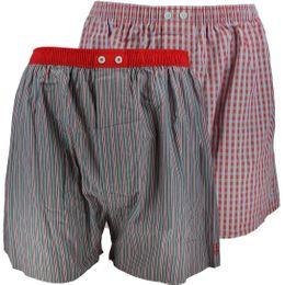 U3563-2 | 2-pack boxer shorts - 100% cotton