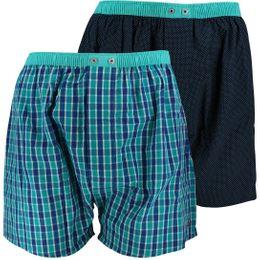 U3564-2 | 2-pack boxer shorts - 100% cotton