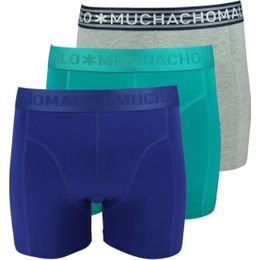 Solid | 3-pack boxer briefs - Stretch cotton