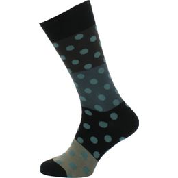 Polka Block | Socks - Cotton and stretch nylon