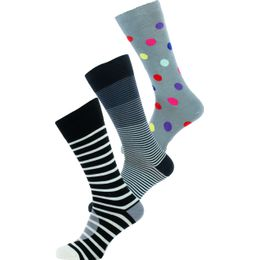 ATXC-SOCK-PACK | 3-pack socks - Cotton and stretch nylon