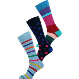 AUXC-SOCK | 3-pack socks - Cotton and stretch nylon