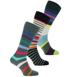 M1A-SOCK | 3-pack socks - Cotton and stretch polyamide
