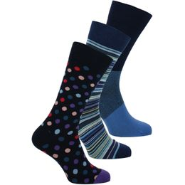 SOCK | 3-pack socks - Cotton and stretch nylon