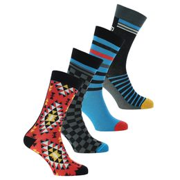 So-Pack | 4-pack socks - Cotton and stretch polyamide