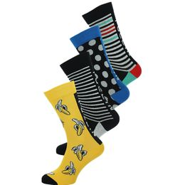 SO-PACK34 | 4-pack socks - Cotton and stretch polyamide