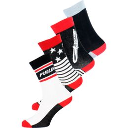 So-Pack19 | 4-pack socks - Cotton and stretch polyamide