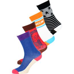 So-Pack21 | 4-pack socks - Cotton and stretch polyamide