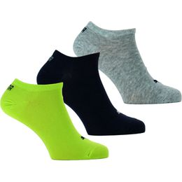 Sneaker | 3-pack ankle socks - Cotton, polyester and stretch polyamide