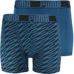Bolt print | 2-pack boxer briefs - Stretch polyester
