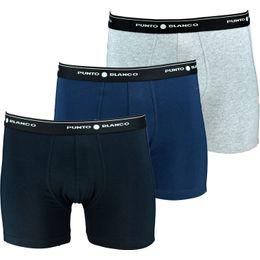 Triplo Boxer Cerrado Basix | 3-pack boxer briefs - Stretch cotton