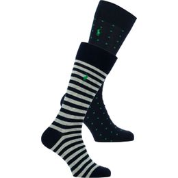 ASX87 | 2-pack socks - Cotton, polyester and stretch nylon