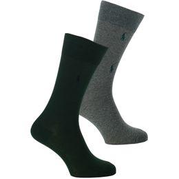 ASX78 | Lote de 2 pares de calcetines clásicos - Algodón y poliamida stretch