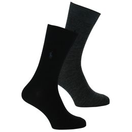 ASX77 | 2-pack socks - Cotton and stretch polyamide