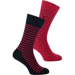 ASX87 | 2-pack socks - Cotton and stretch polyamide