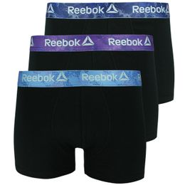U5_F8198_RBK | 3-pack boxer briefs - Cotton and stretch polyester