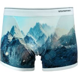 Snowy Peaks | Boxer briefs - Stretch cotton