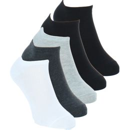 Tifunky | 5-pack ankle socks - Cotton and stretch polyamide