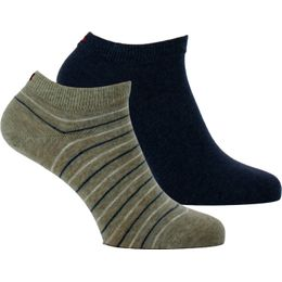 372005001 | 2-pack ankle socks - Cotton and stretch polyester
