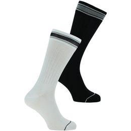 Patch | Lote de 2 pares de calcetines largos - Algodón y poliamida stretch