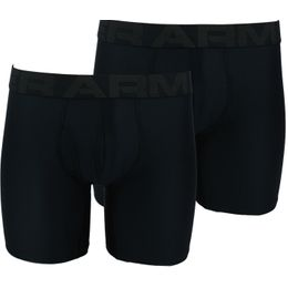 Tech 6in | 2-pack boxer briefs - Stretch polyester