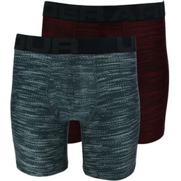 Tech 6in Novelty | 2-pack boxer briefs - Stretch polyester