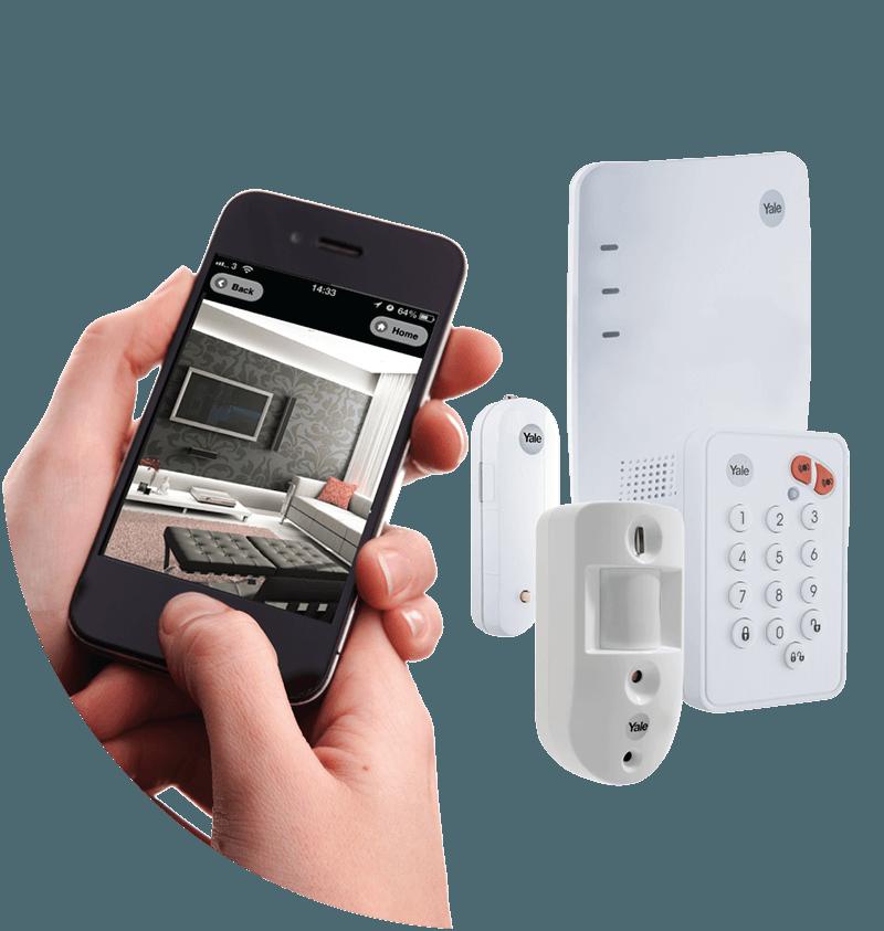 yale alarm mobil