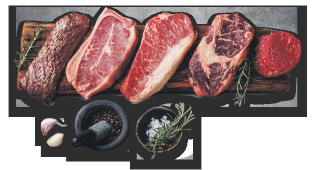 kjøttstykker