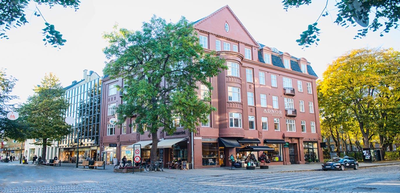 Adnor Advokats kontorbygg i Dronningens gate i Trondheim