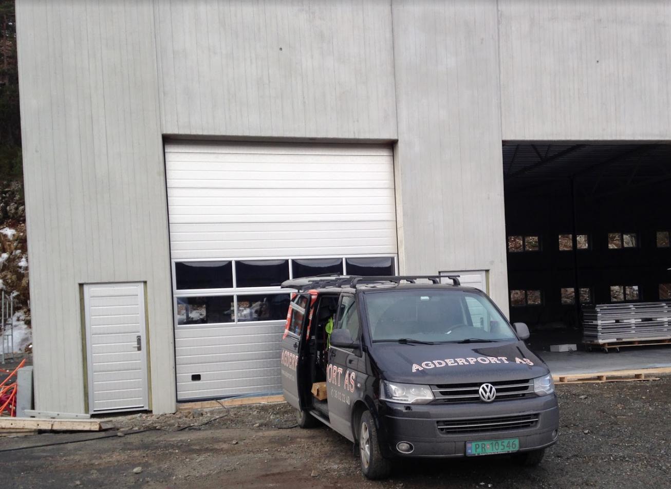 reparasjon av industriporter