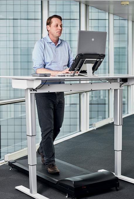 Bwell Office Treadmill Incline