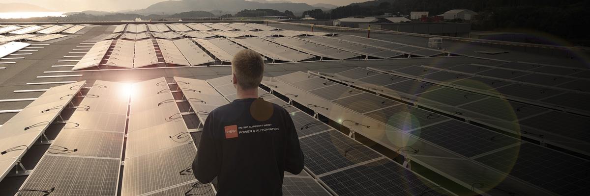 PSW Power solcelle elektriker installatør komfyrvakt