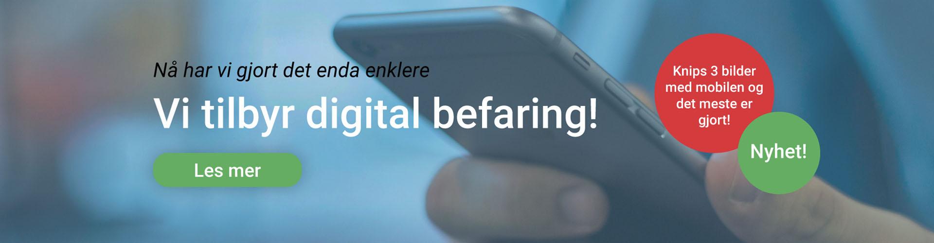 Digital befaring elektriker Molde